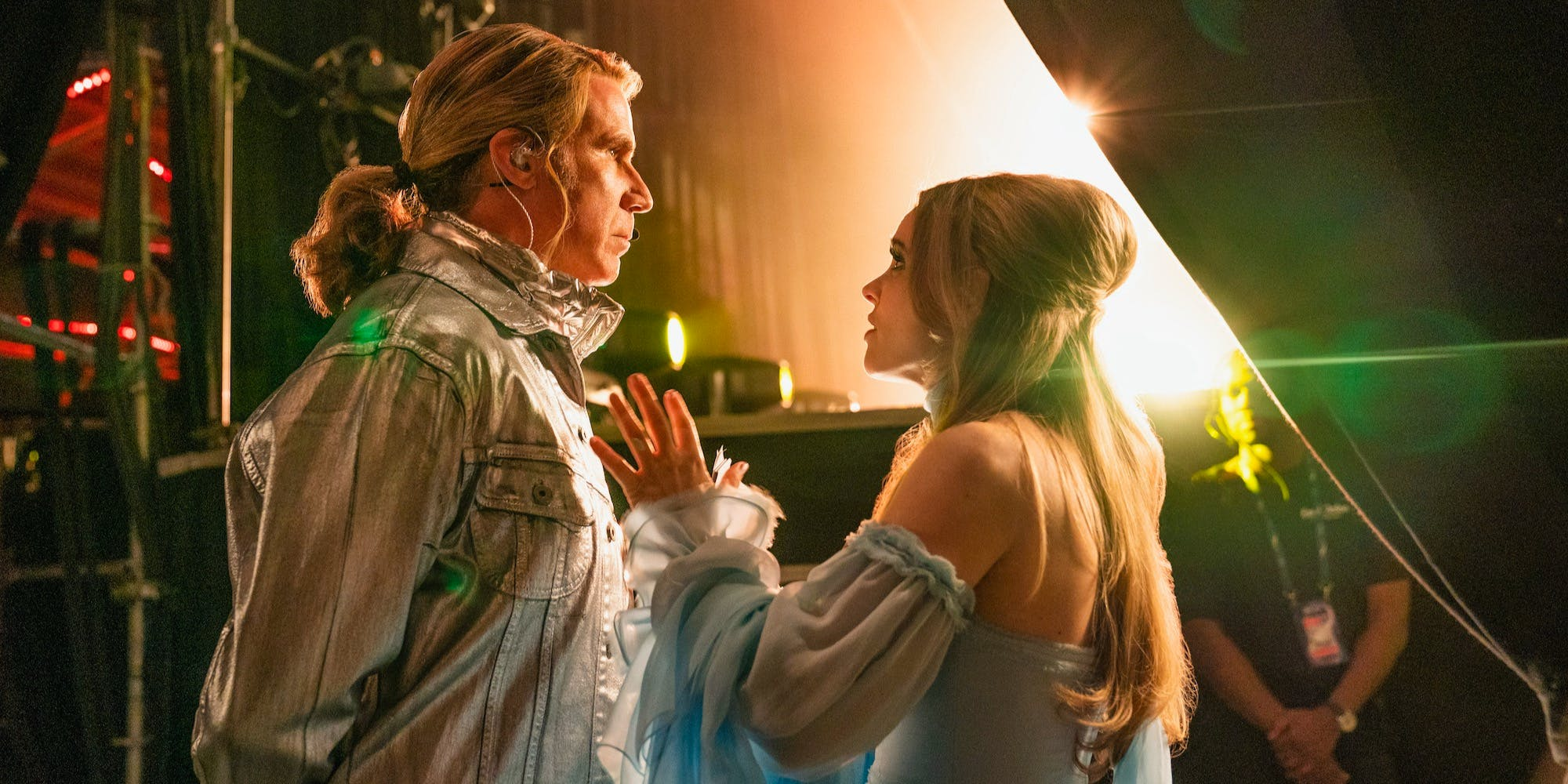 Will Ferrell and Rachel McAdams in Eurovision Song Contest: The Story of Fire Saga, one of the best new musicals on Netflix in 2020.