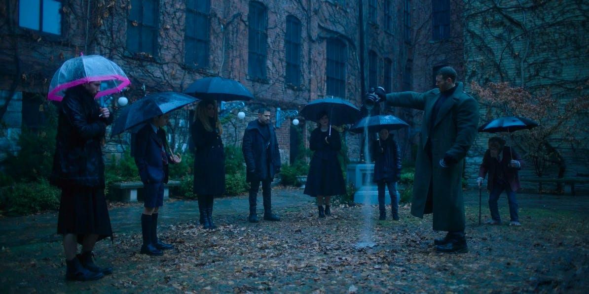 Netflix original series 2019: Umbrella Academy