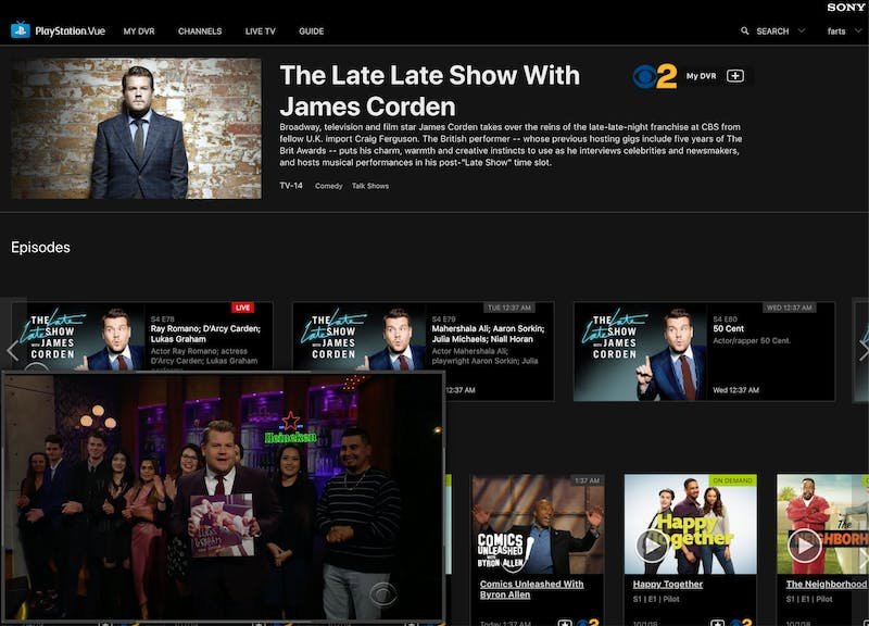 playstation vue review webstreaming
