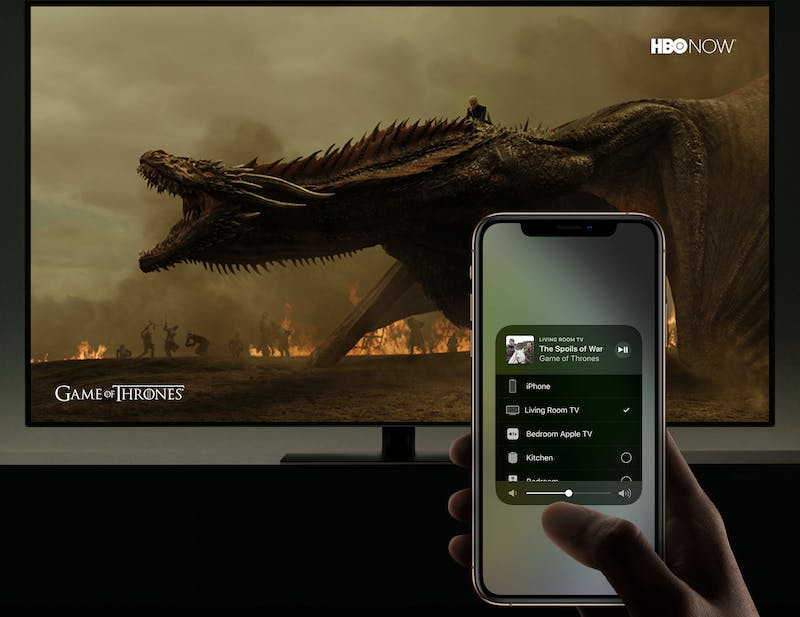 apple TV iOS control