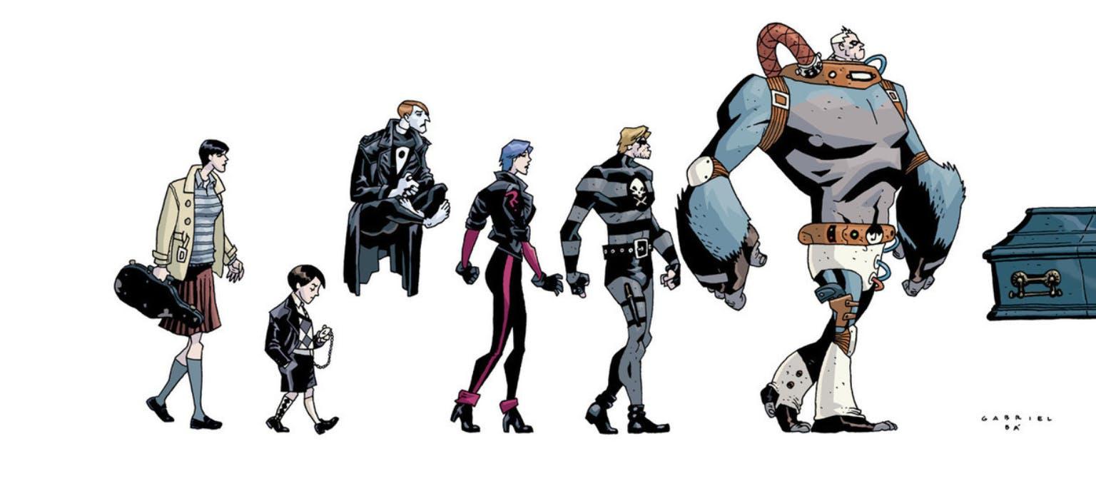 the umbrella academy comics characters