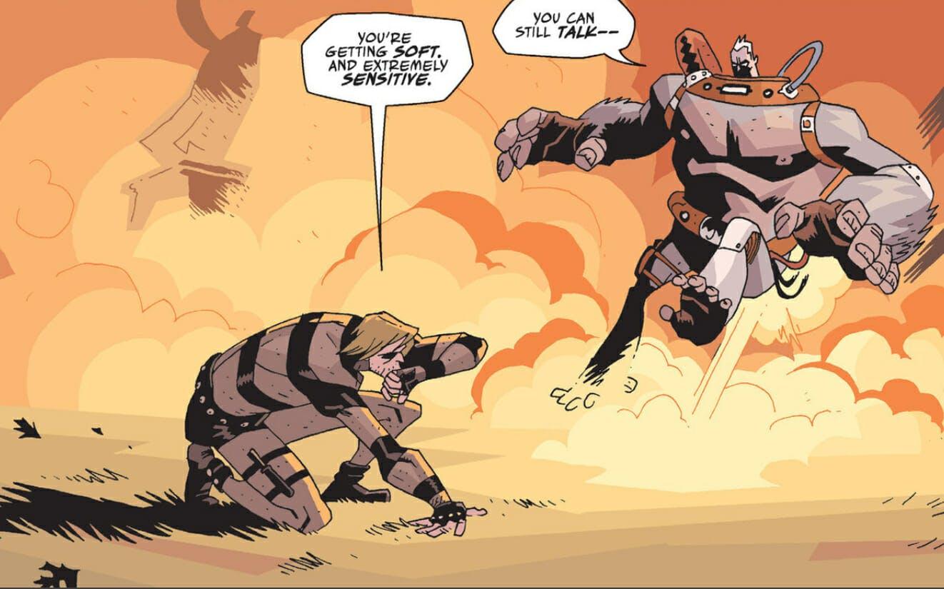 the umbrella academy comics kraken
