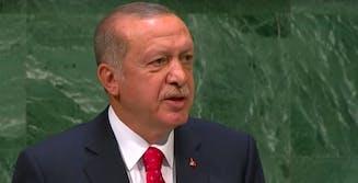 erdogan turkey new zealand footage