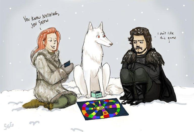 Jon snow trivial pursuit