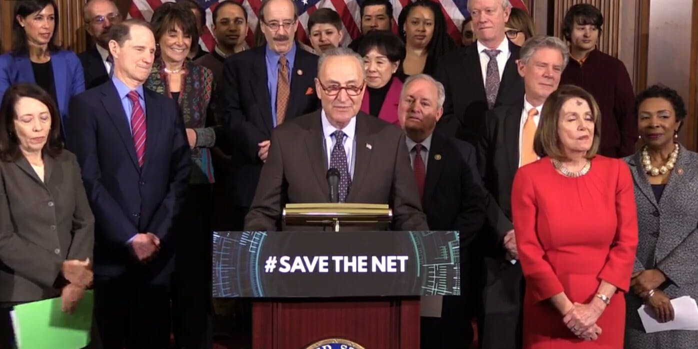 Net Neutrality Save The Internet Act Schumer