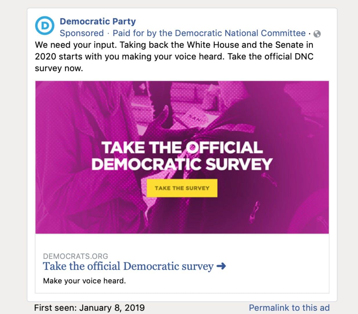 facebook political ads propublica