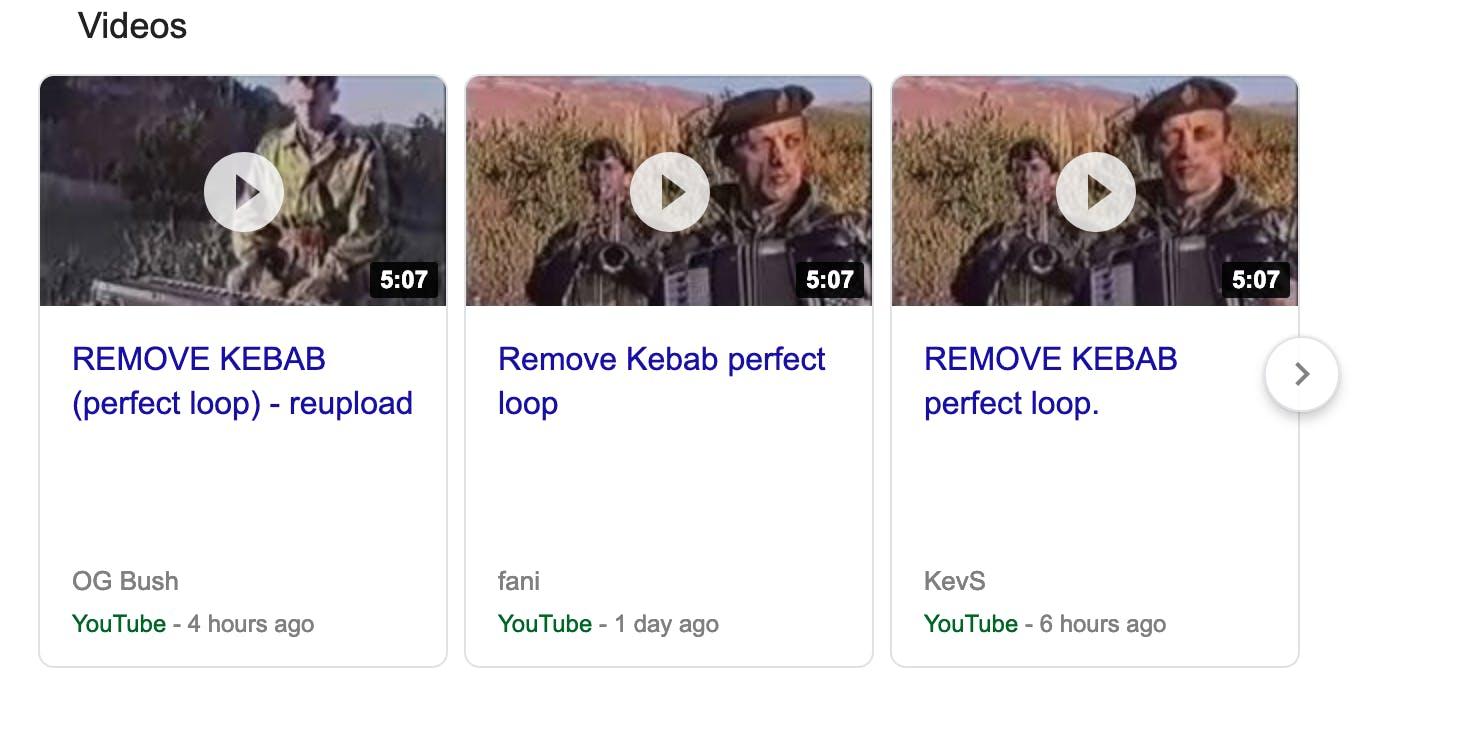 youtube remove kebab