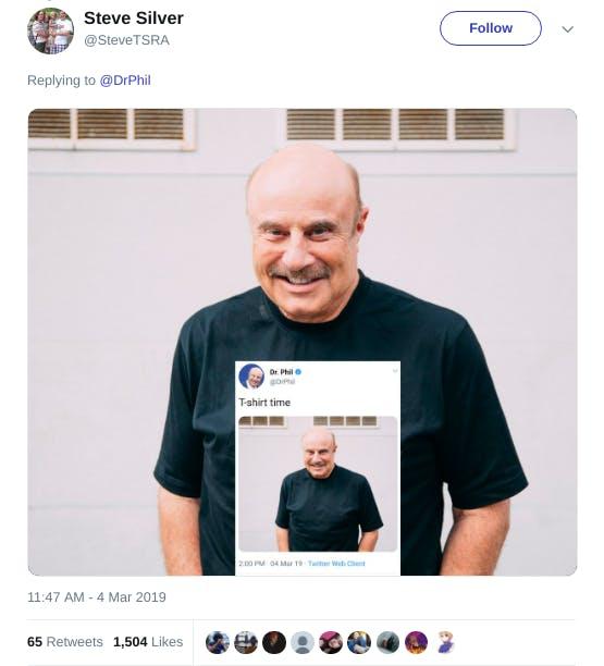 Dr, Phil T-shirt-ception