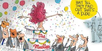 Washington Post Transphobic Mueller Cartoon
