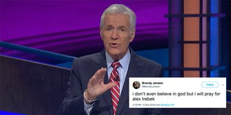 Alex Trebek announces he's been diagnosed with pancreatic cancer.