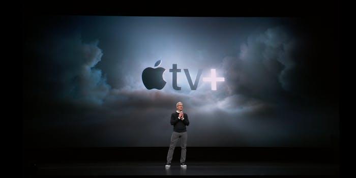 Apple TV+ shows Tim Cook
