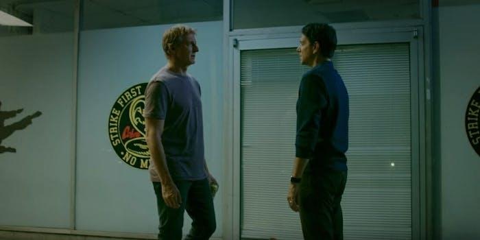 Cobra Kai season 2 trailer ralph Macchio Billy Zabka