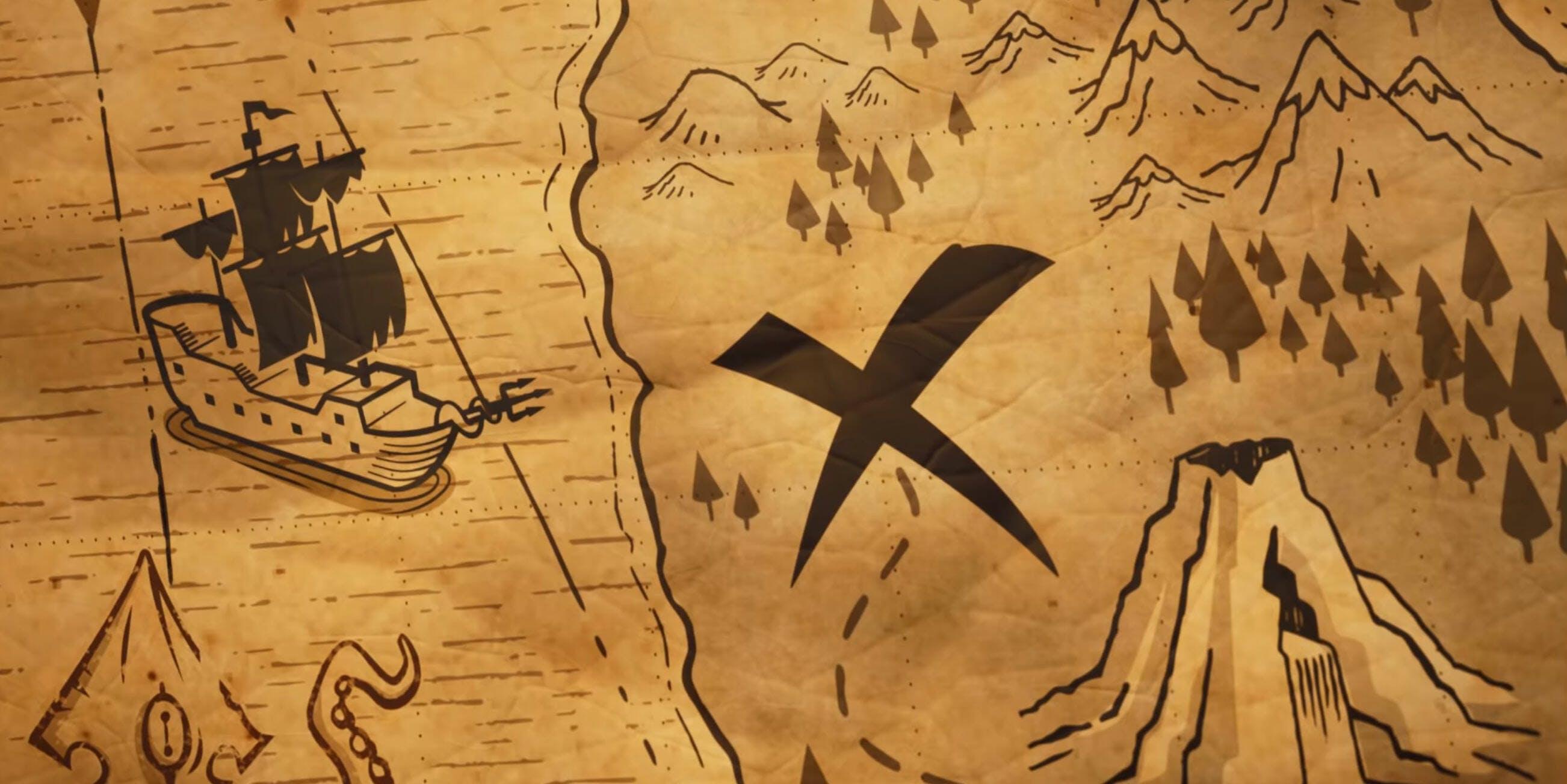 fortnite treasure maps