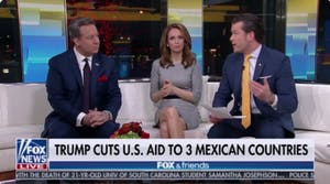 fox & friends 3 mexican countries graphic