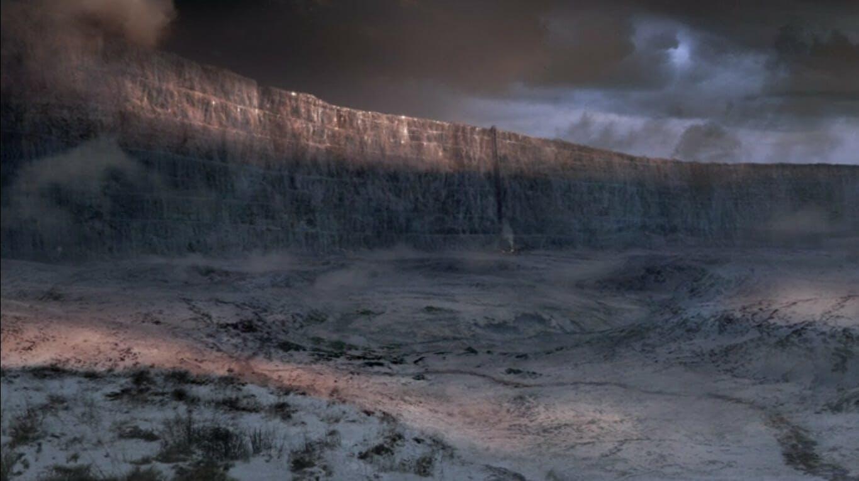 Image showing stark, barren landscape
