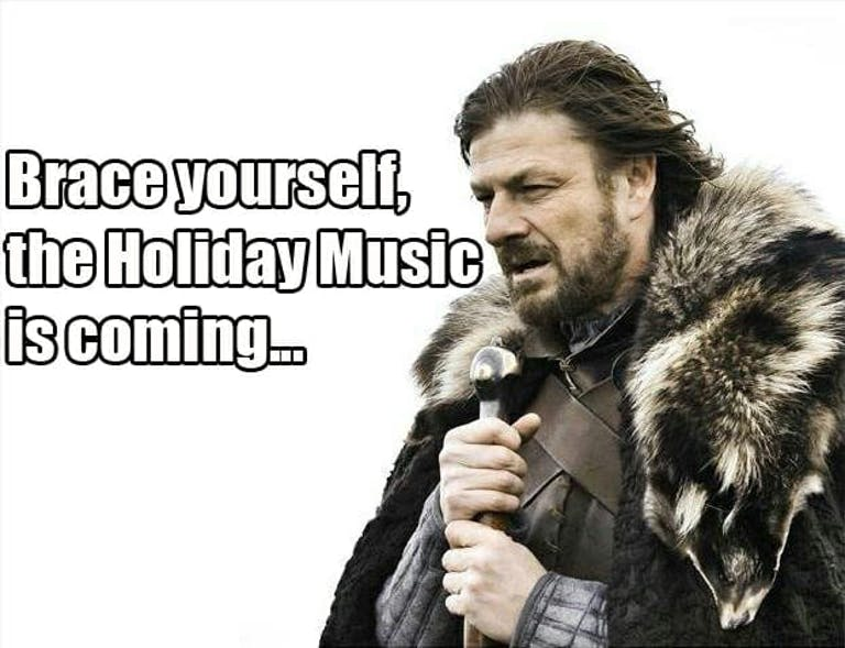 game of thrones holiday music_meme