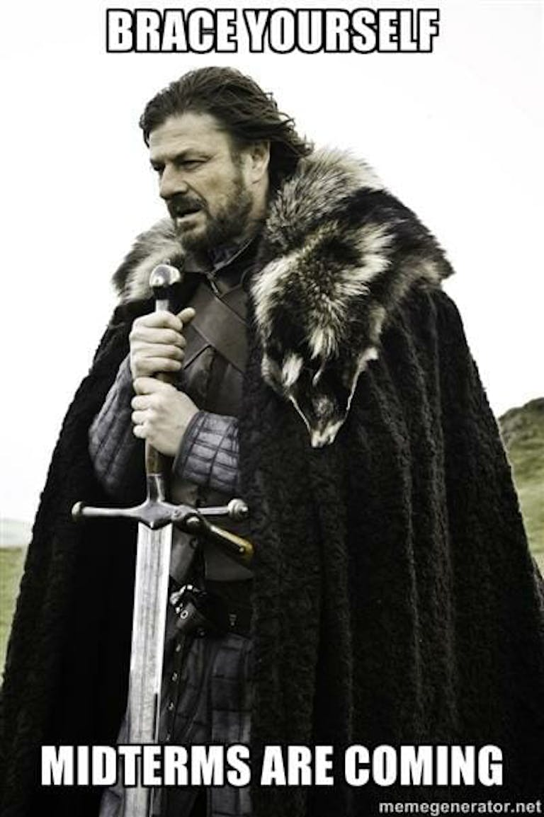 game of thrones midterms coming meme