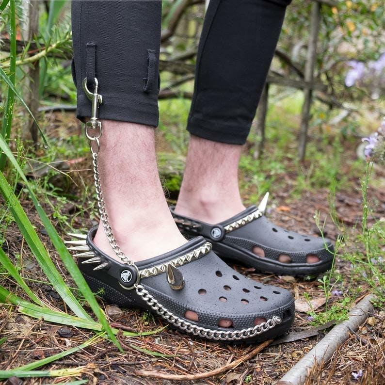 goth crocs 2