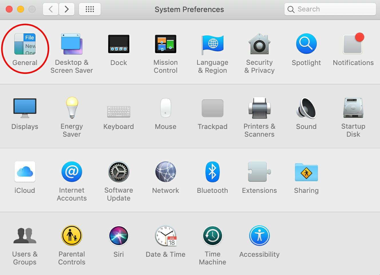google chrome dark mode - system preferences