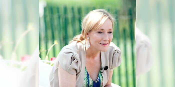 J.K. Rowling reveals meme
