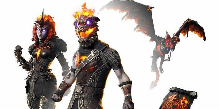 lava legends pack fortnite
