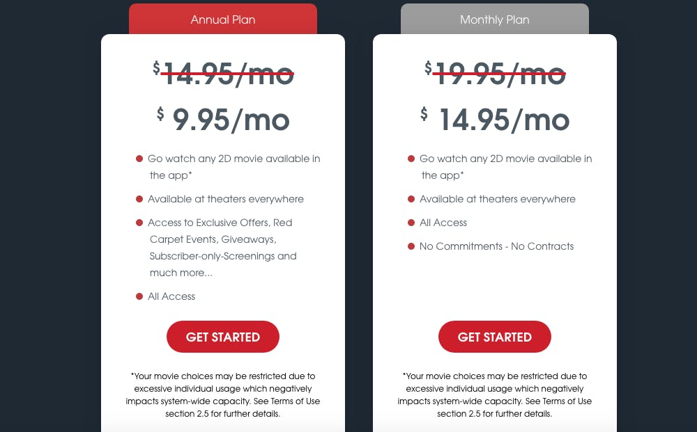 moviepass uncapped plan