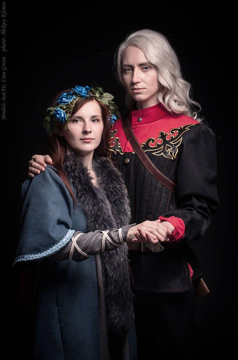 rhaegar targaryen and lyanna stark by greatqueenlina