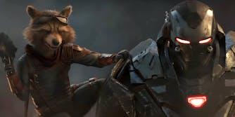 rocket raccoon avengers endgame