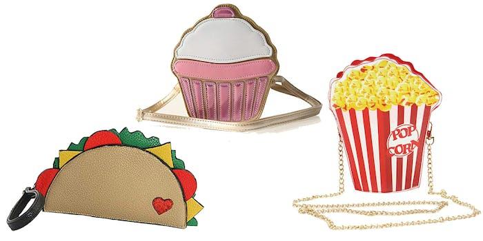 scrumptious food purses