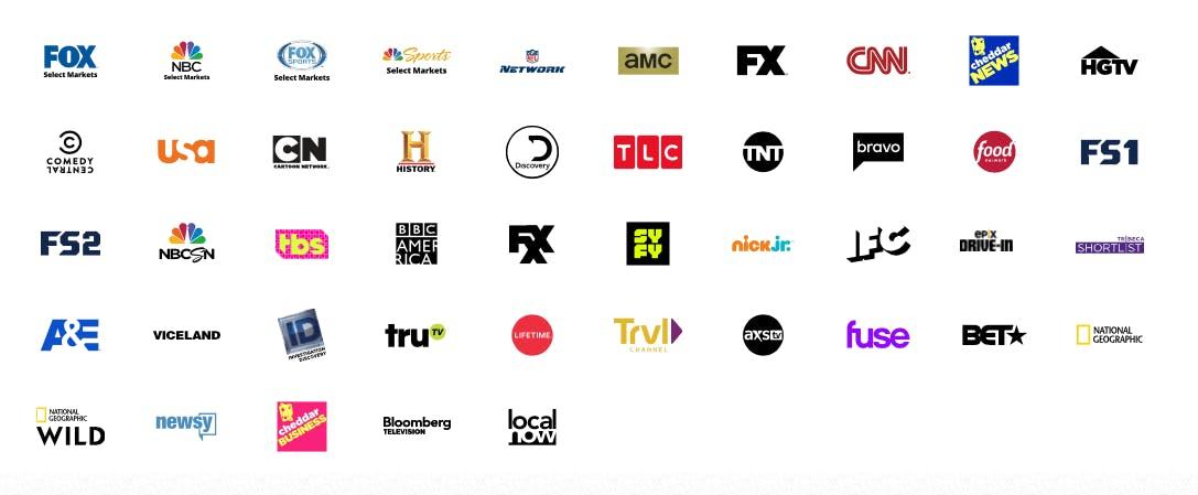 watch fixer upper online Sling TV channels