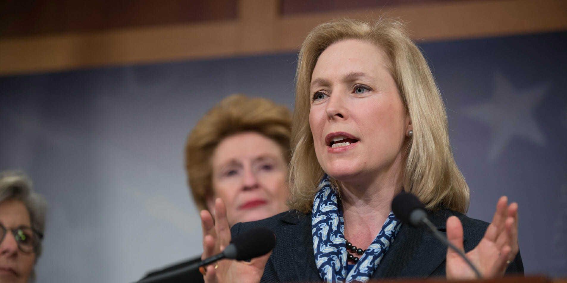 2020 democratic candidates internet privacy - kirsten gillibrand