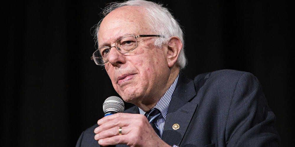 2020 democrats internet privacy - bernie sanders