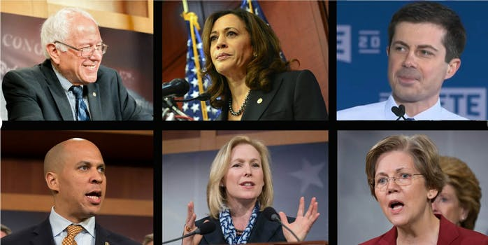 2020 democrats mueller