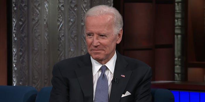 Avengers Endgame Joe Biden
