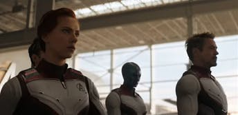Leak of Avengers: Endgame footage
