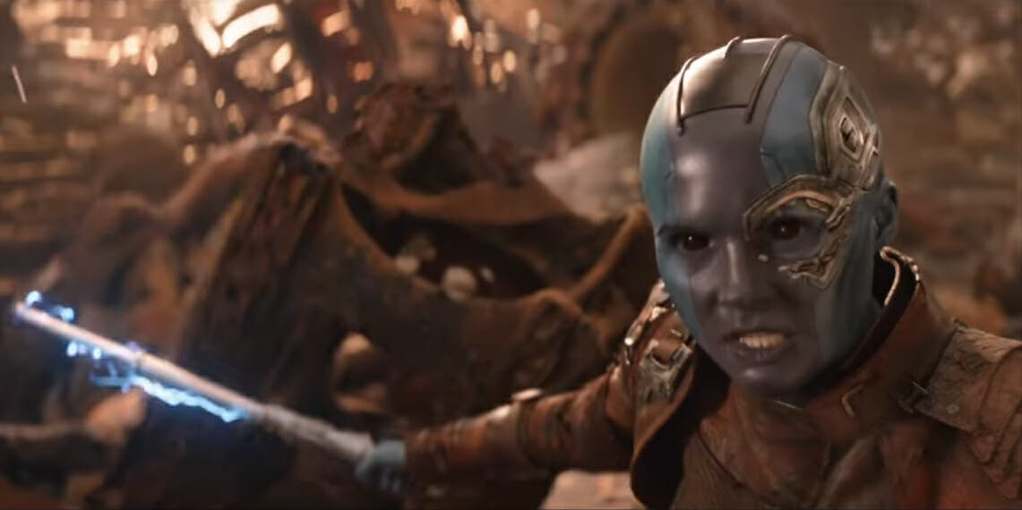 Avengers: Endgame - Nebula baton