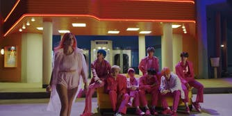 BTS Halsey Boys With Luv Teaser Video
