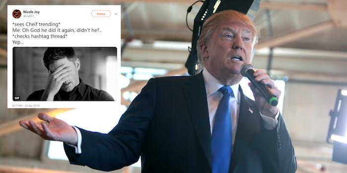 Donald Trump Cheif Tweet