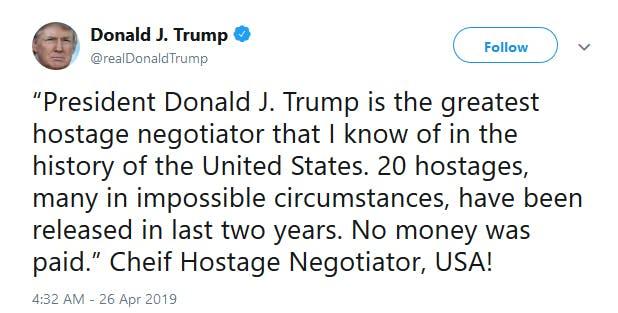 Donald Trump Cheif