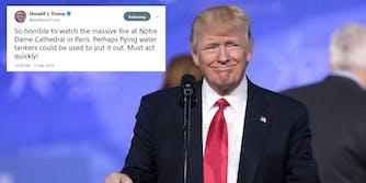 Donald Trump Notre Dame