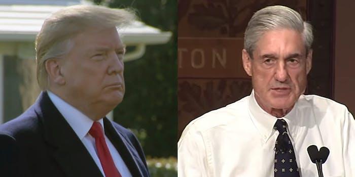 Donald Trump Robert Mueller Report Released