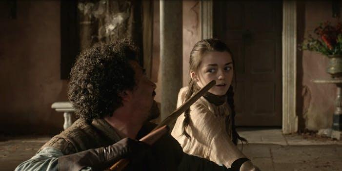 Game of Thrones Battle of Winterfell Arya Stark Callbacks Reactions