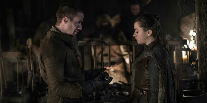 Game of Thrones - Arya and Gendry