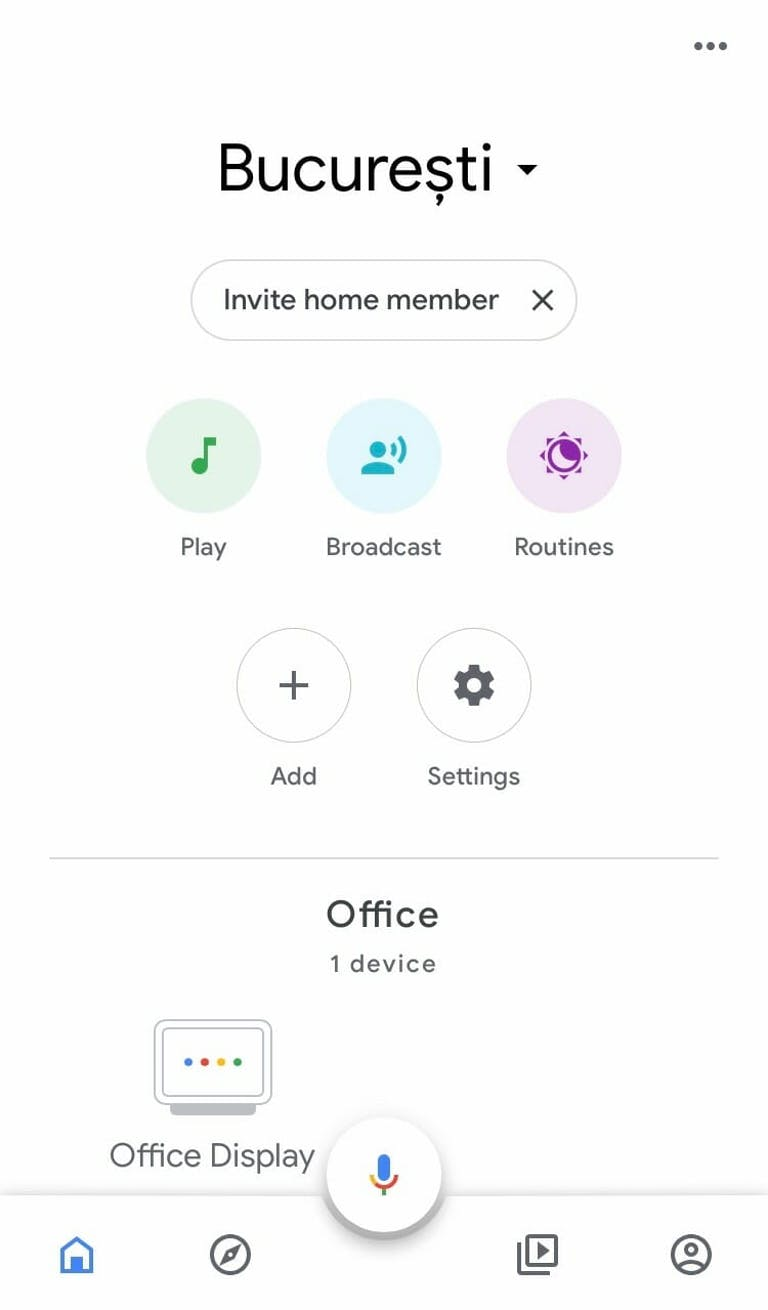 How to add people to Google Home