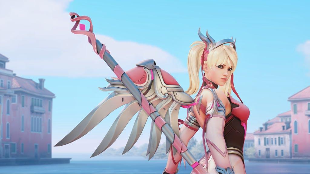 Healsluts Pink Mercy Overwatch