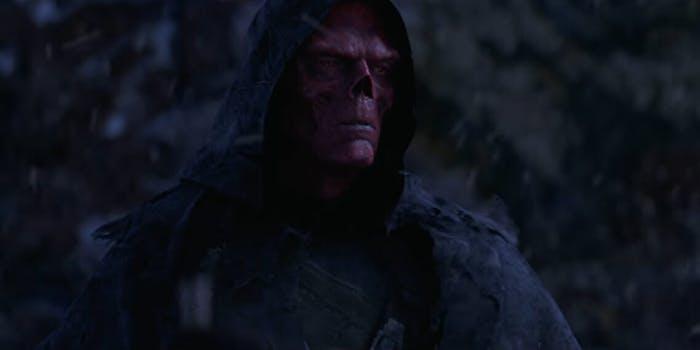 Red Skull Thanos snap