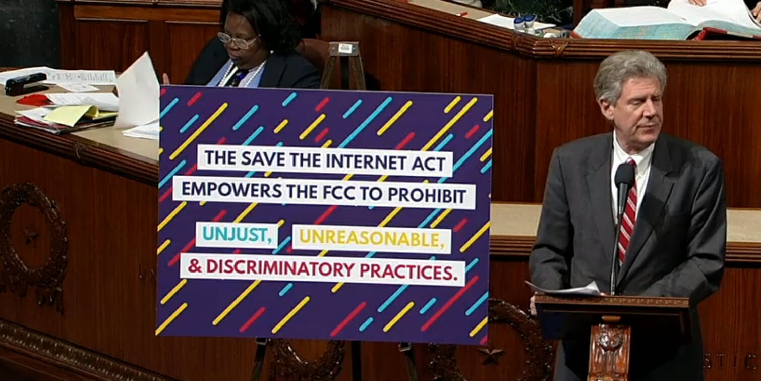 Save The Internet Act Net Neutrality House Vote