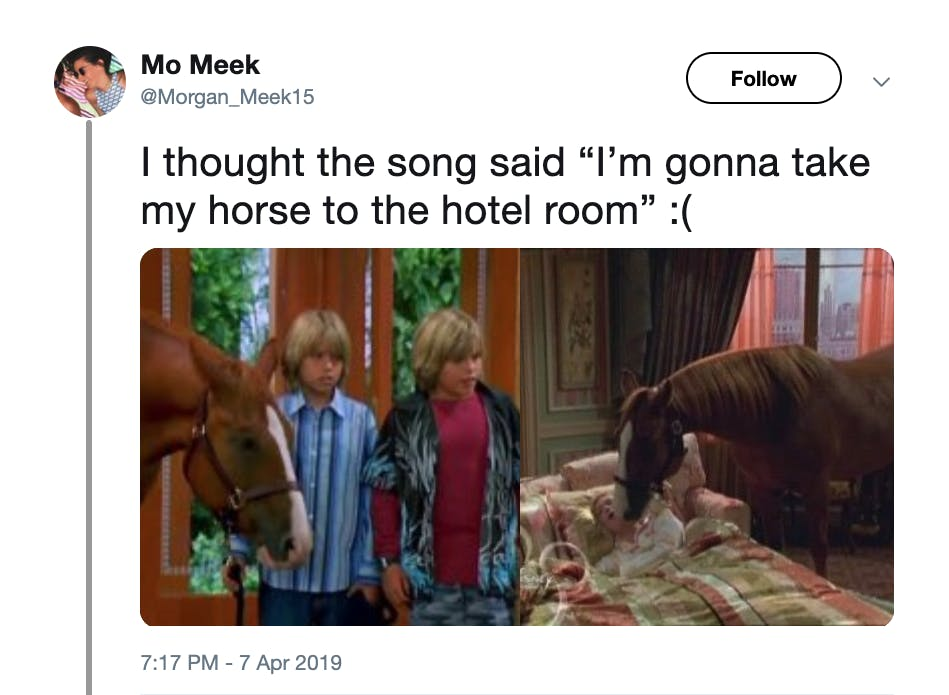 old town road memes - horse to my hotel room