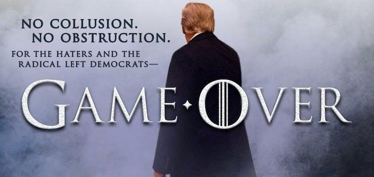 trump game of thrones meme