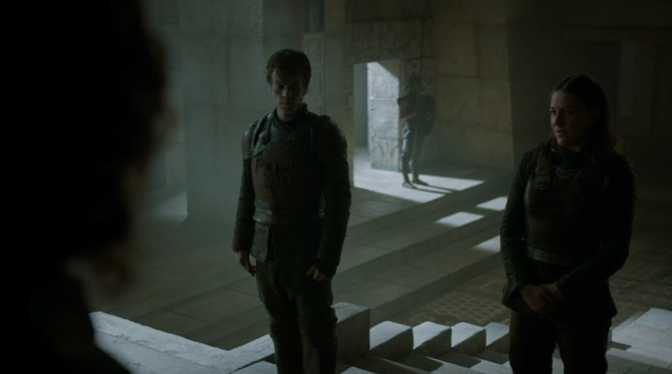 Game of Thrones Theon and Yara